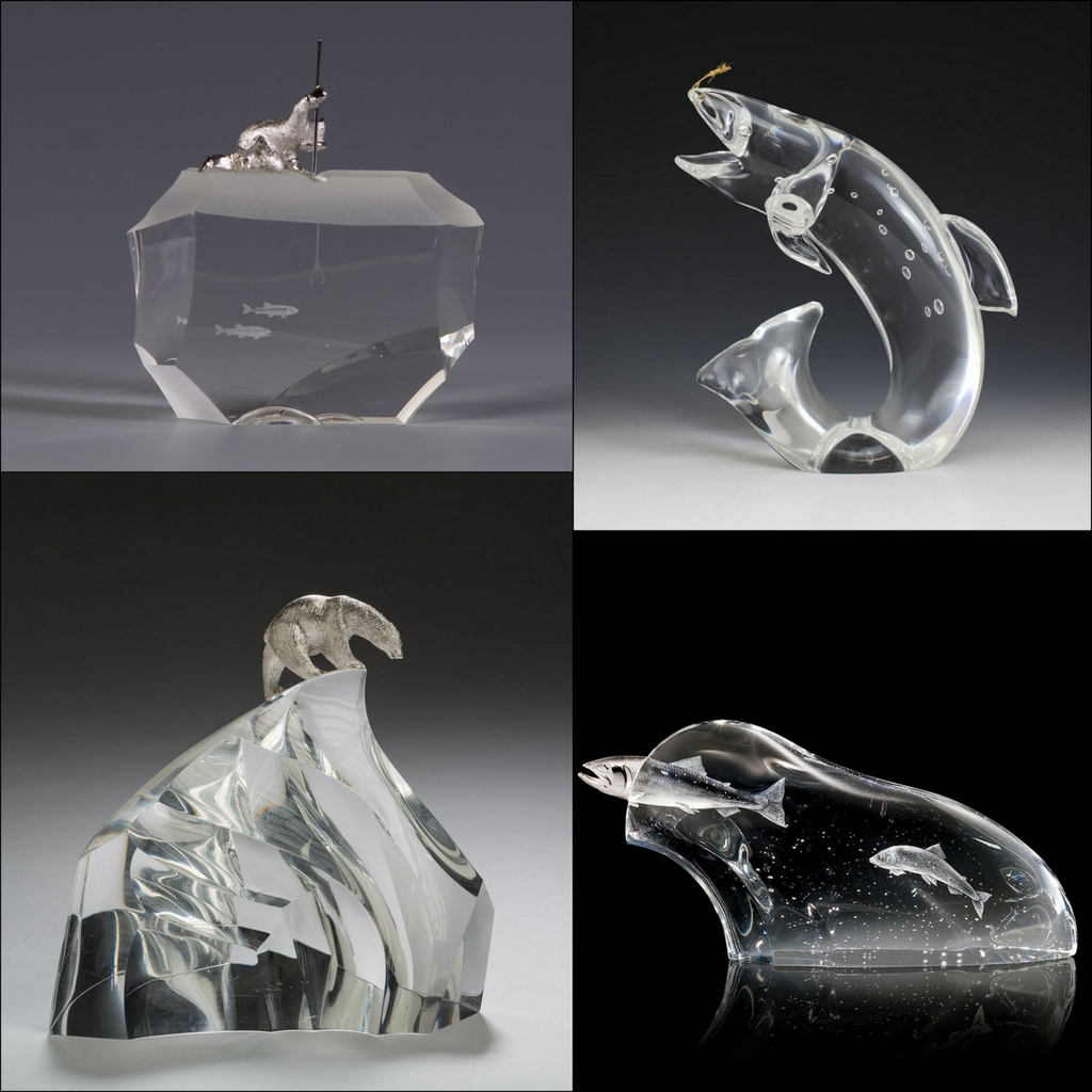 Glass designs by James Houston