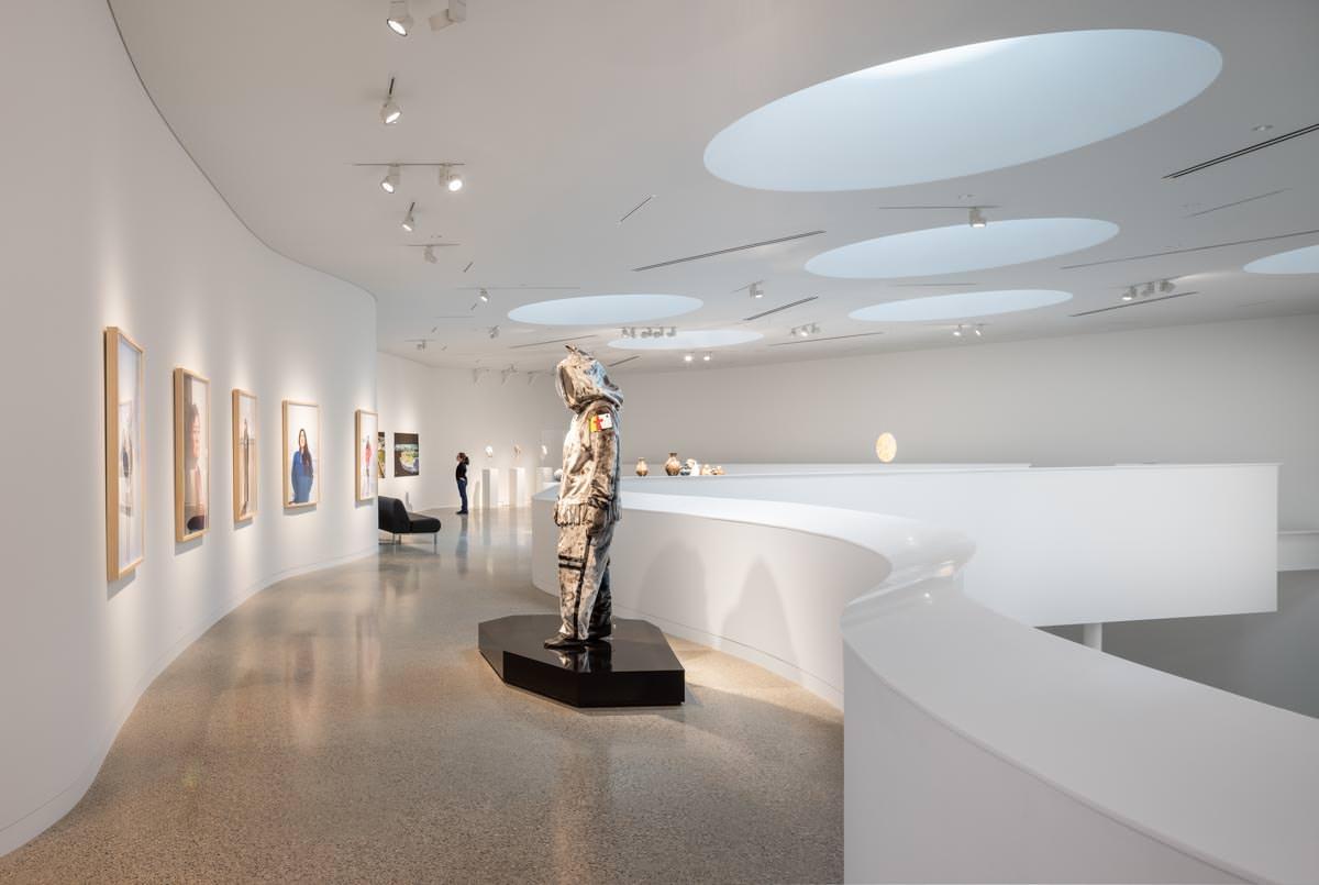 gallery at Qaumajuq in Winnipeg Canada